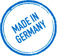 """Made in Germany"" stamp"