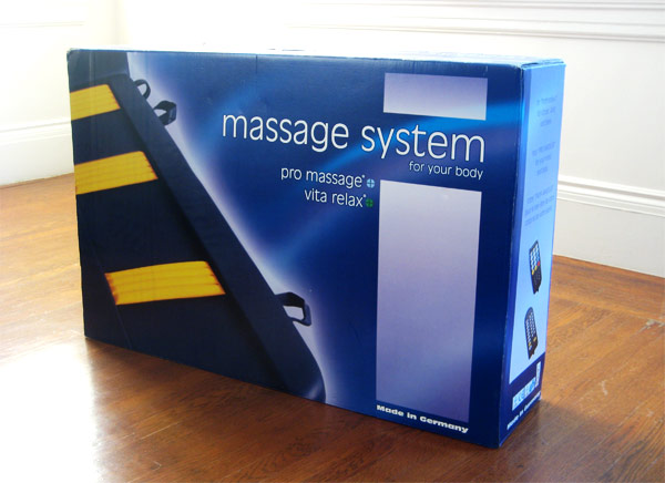 The massage mattress bag